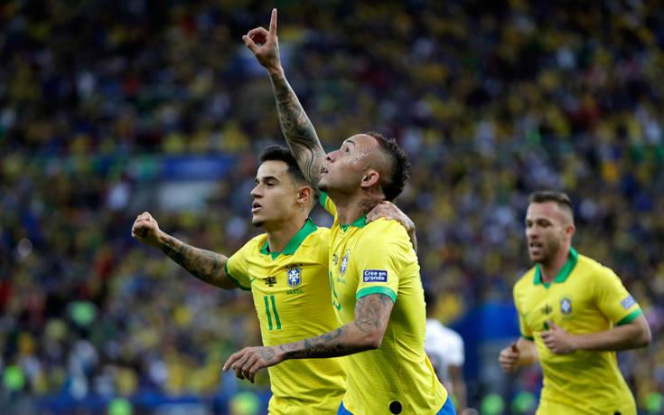 Θριαμβεύτρια η Βραζιλία μέσα στο «σπίτι» της, 3-1 το Περού – Newsbeast