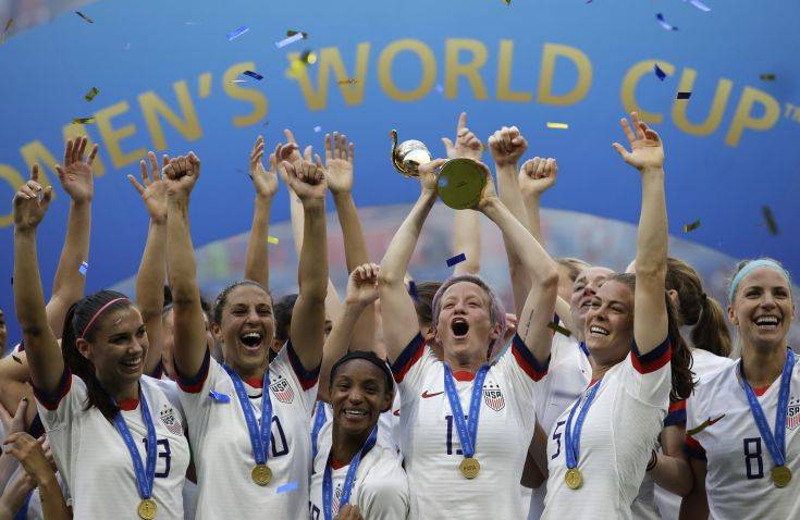 Πρωταθλήτριες κόσμου οι Αμερικανίδες, κέρδισαν 2-0 την Ολλανδία – Newsbeast
